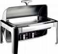 Catering Equipments Rectangular Stainless Steel Buffet Stove Chafing dishes