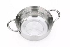 不鏽鋼油炸鍋
