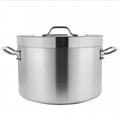 一体拉伸成型不锈钢汤锅