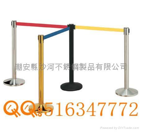 伸縮帶圍欄杆  1
