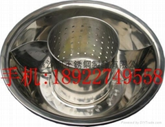 Inox Non-Dregs Hot pot Available in Round Lotus and Octagonal shape