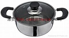 Pocket Shape Mongolian Hotpot ,Yuanyang Hotpot,Chinese Fire Pot