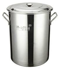 厨房18/10不锈钢大容量汤桶不容易生锈可用燃气炉 3