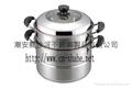 combined steamer pot set,2-Tier Steamer