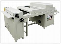 UV Liquid laminator/UV Coating Machine-----ideal replacement to film laminating