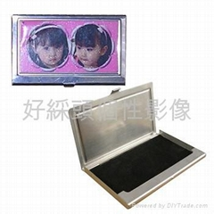 sublimation name card holder