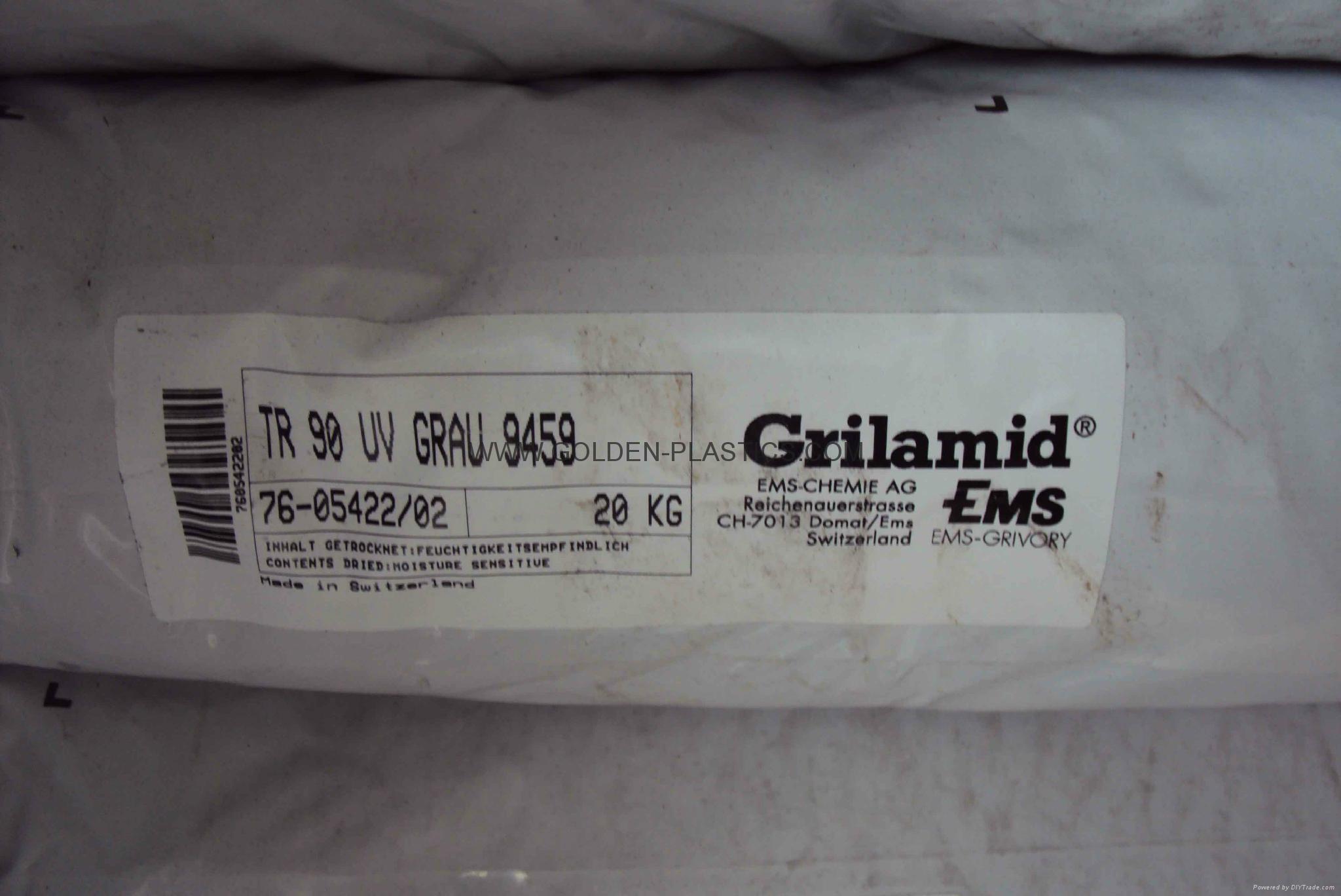 Grilamid TR90 UV GRAU 9459