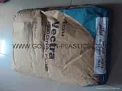 liquid crystal polymer glass fiber mineral filled LCP resin VECTRA E130I
