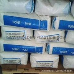 Chemical inertness UV & γ radiation resistance PVDF Homopolymer Solef TA-6008