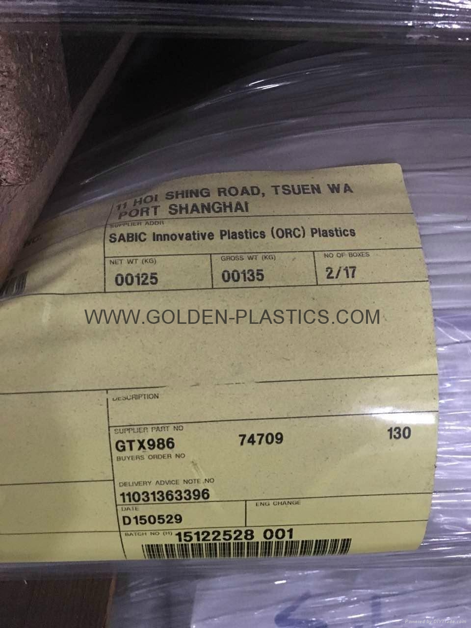 NORYL GTX986 PPE+PA66