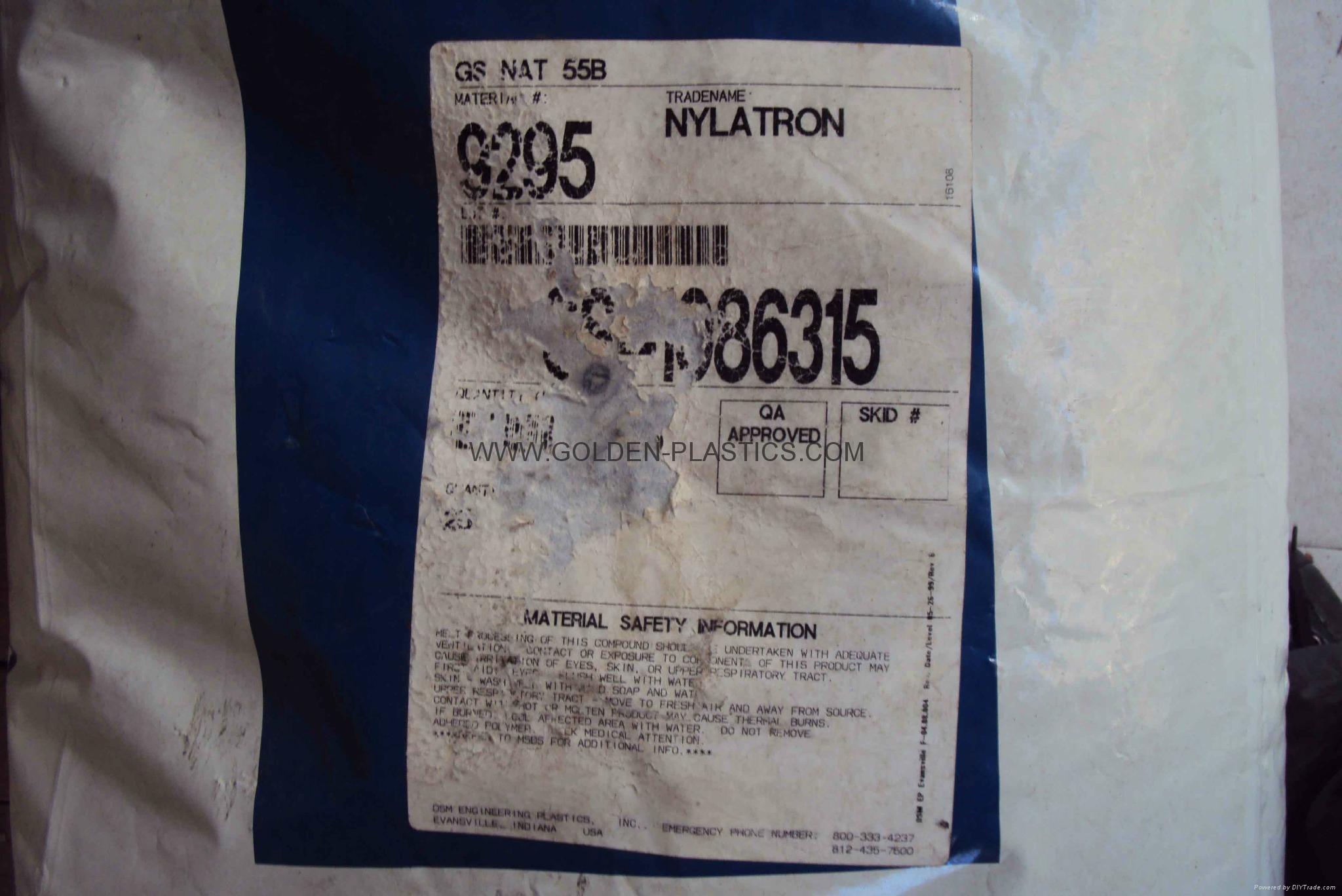 NYLATRON GS NAT 55B 9295
