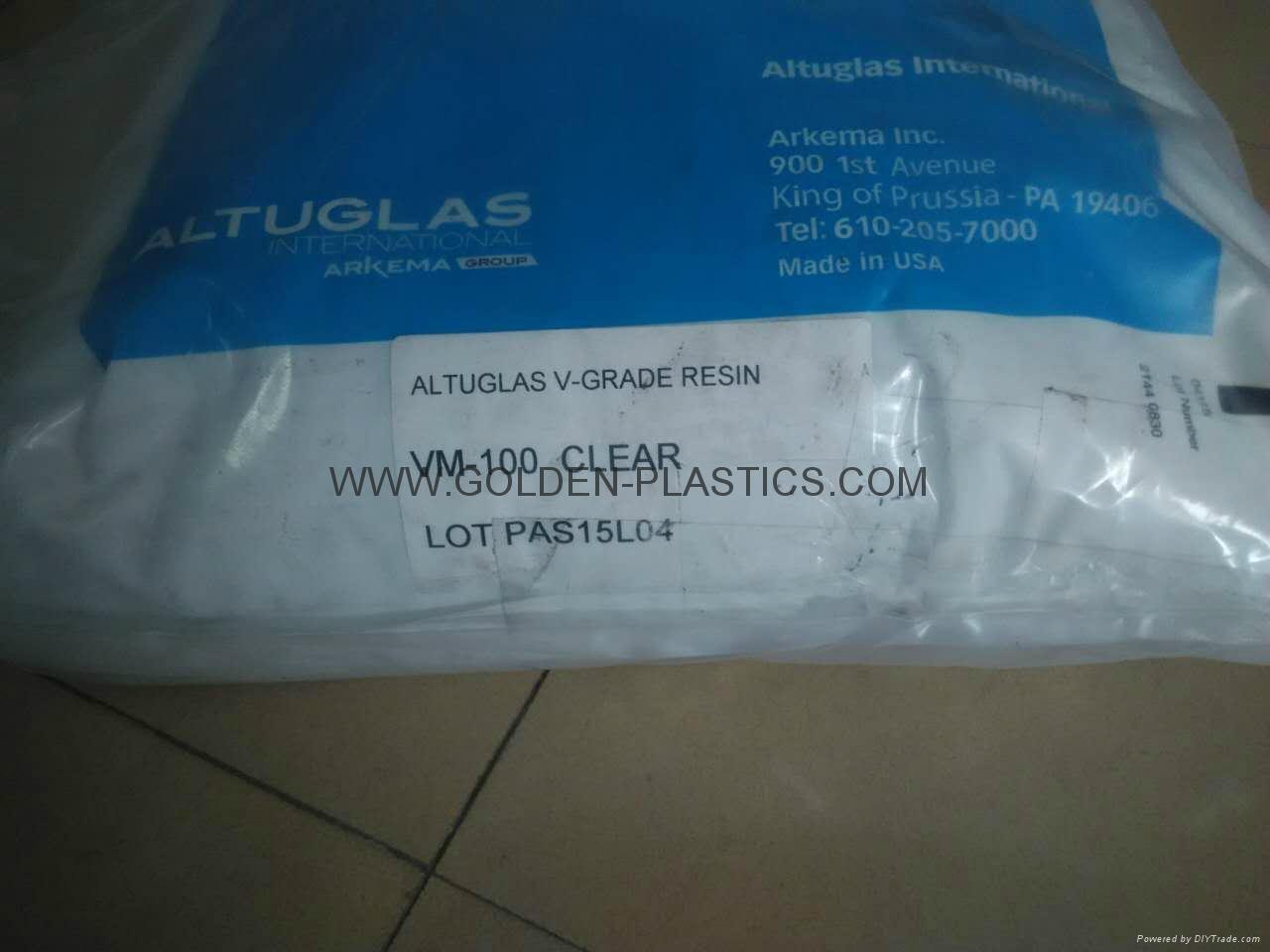 Altuglas V-grade resin VM-100 Clear