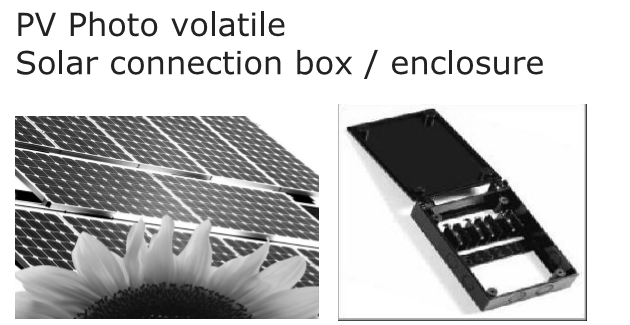 solar connection box