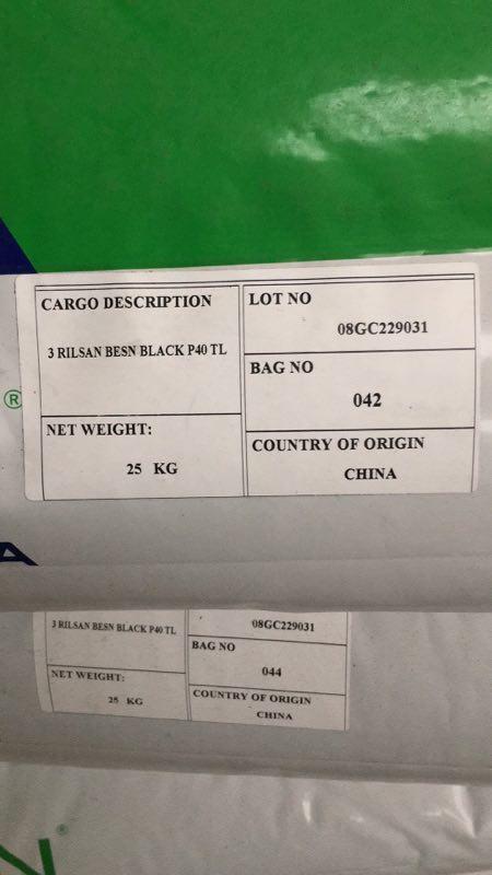 RILSAN BESN BLACK P40 TL