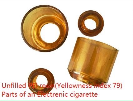 amber polyetherimide (PEI)