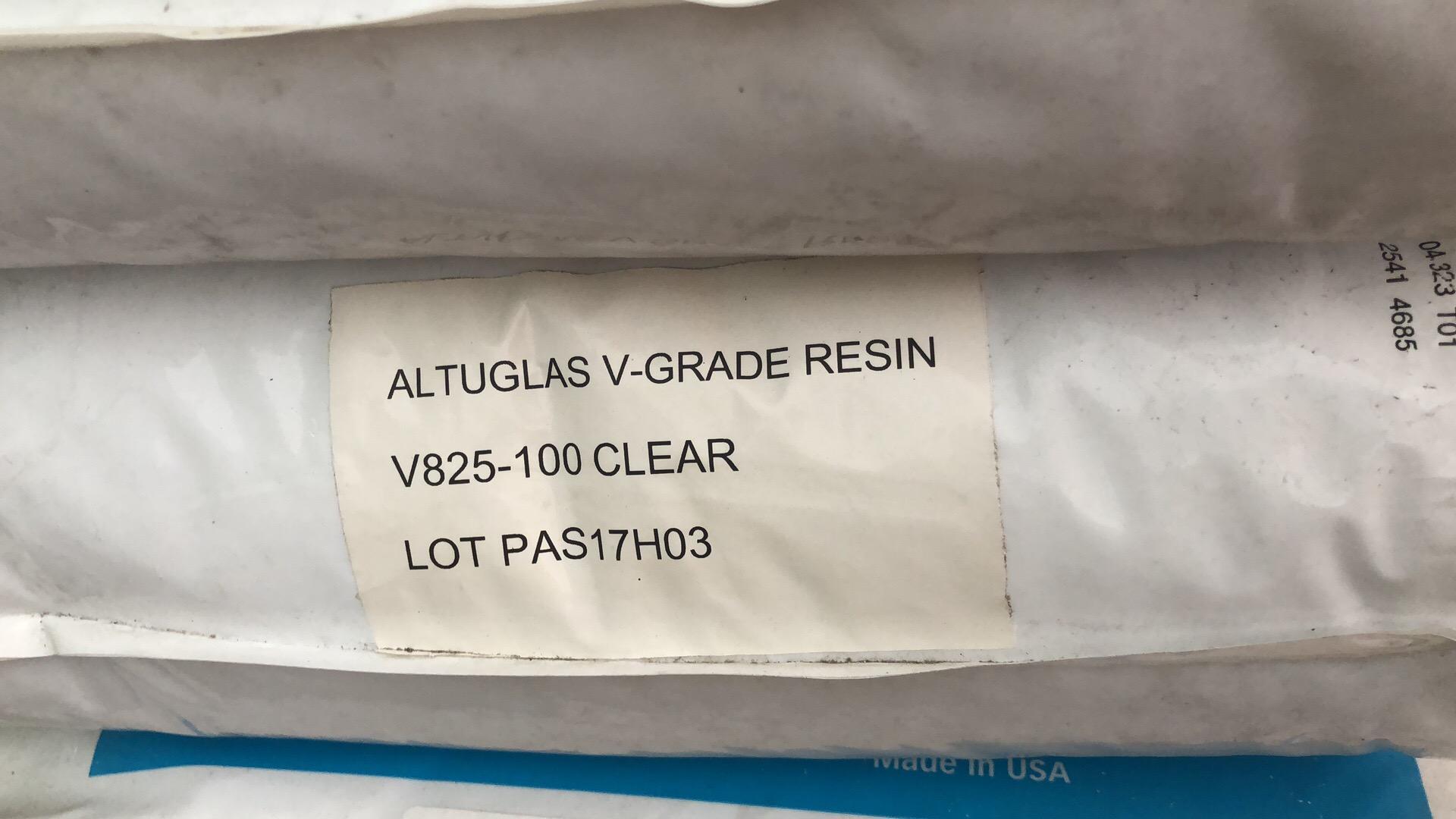 HIGH HEAT PMMA Altuglas HT121-102 Clear 19