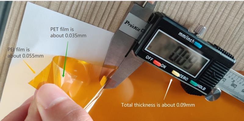 PEI ULTEM films 0.035mm