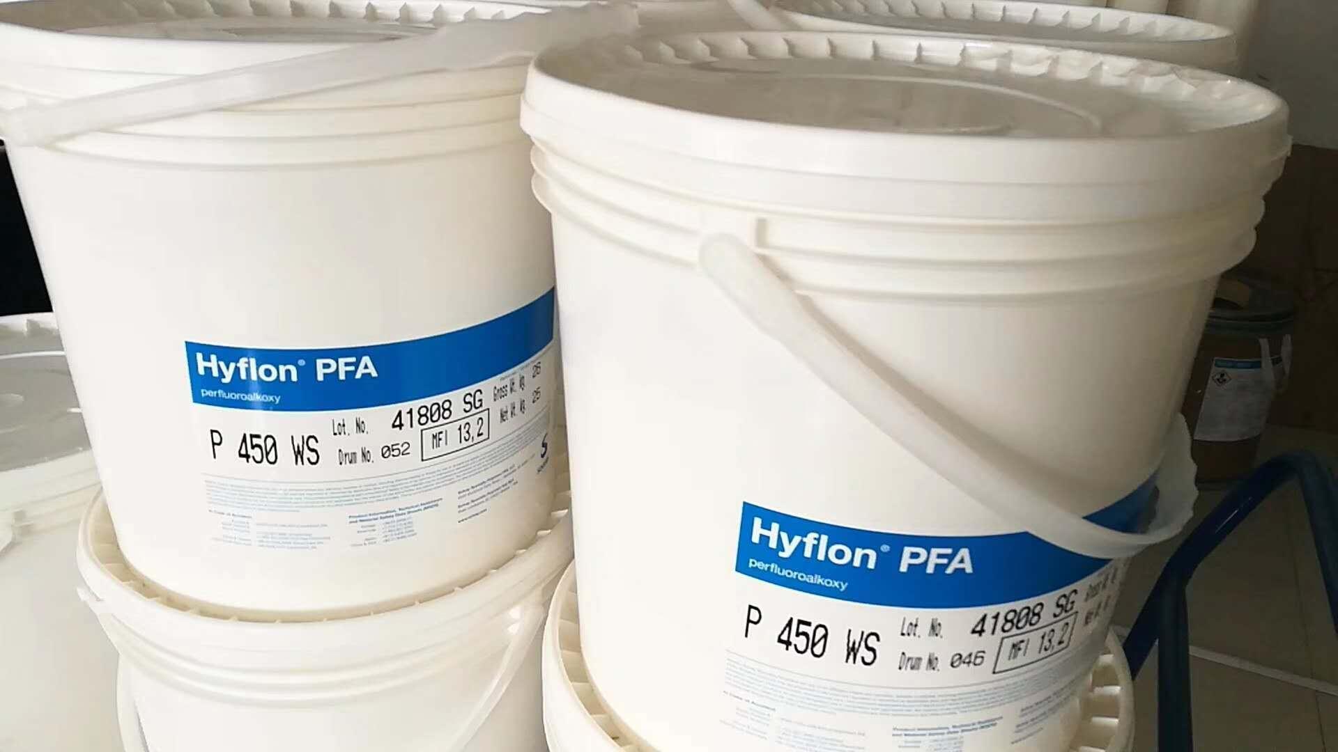 Fluoropolymers Hyflon PFA