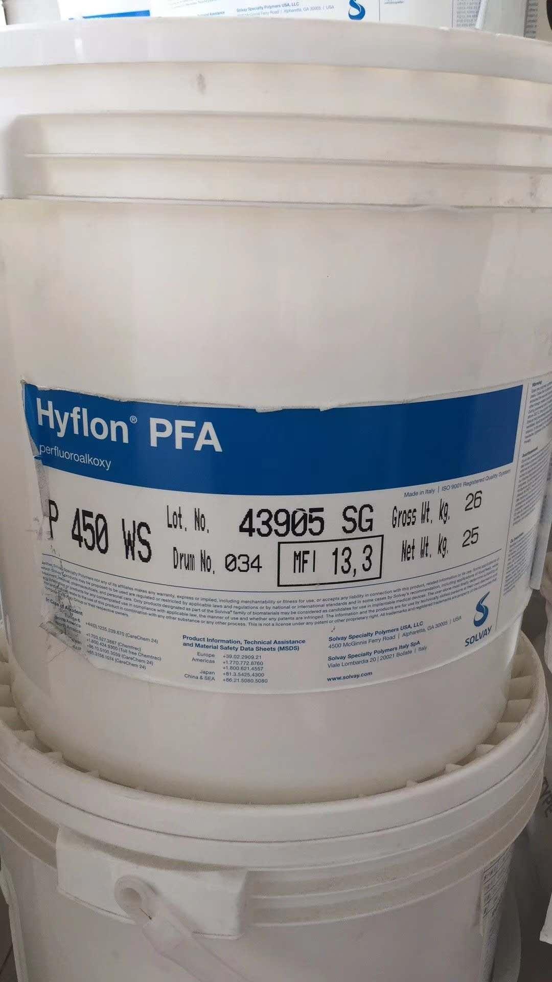 Hyflon PFA P450 WS