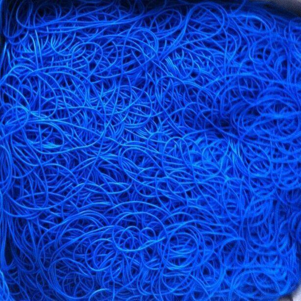 TPE Barium thread (X-ray detectable) BLUE
