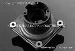 金屬摩擦/無油自潤滑Nylatron GS-51 GS-HS PA66+MOS2