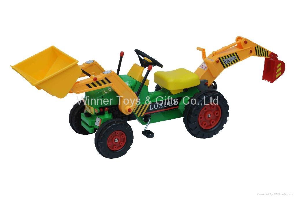 1315 LOADER PEDAL CAR 1