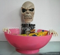 2030 HALLOWEEN SKULL CANDY HOLDER