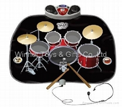 SLW9787 DRUM KIT PLAYMAT