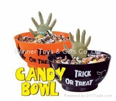 2020 HALLOWEEN HANDS CANDY BOWL