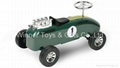 KL-8054 GREEN VINTAGE TACER(METAL CAR-FTF)