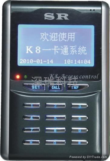 K8門禁考勤機 1