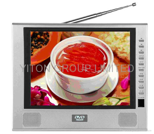 Car and portable DVD/MPEG4/TV/USB/GAME/CARD READER player 1
