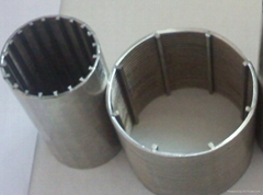 continous slot wedge well screen