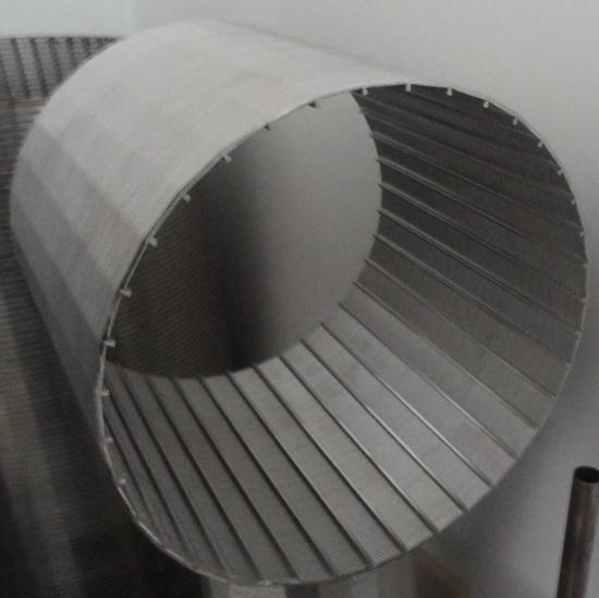 low carbon ga  anized spiral screen tube 2