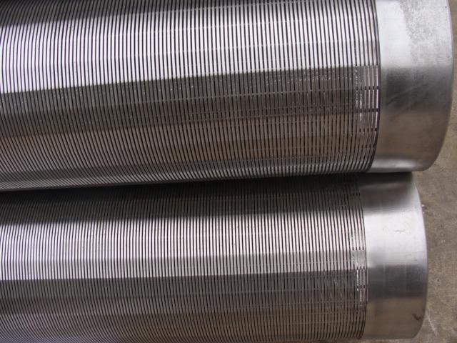 low carbon ga  anized spiral screen tube 5
