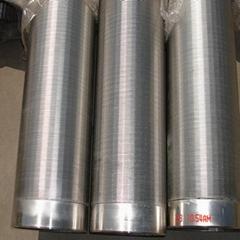 全焊式不鏽鋼楔形繞絲篩管