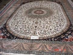 手工真丝地毯B