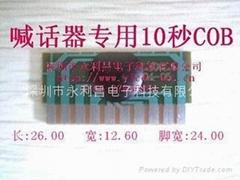 语音录音IC芯片喊话器专用6秒