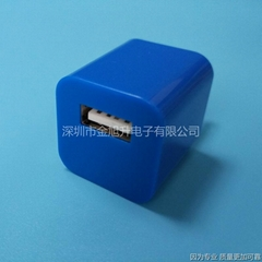 1安 USB手机充电头