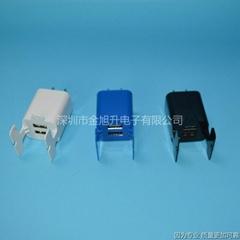 新款支架样式USB手机充电头