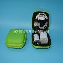三合一旅行充USB电器套装