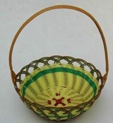 竹制水果籃子