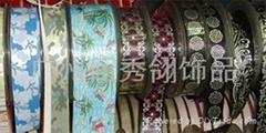 woven print label