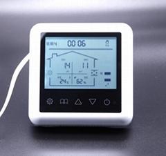 多合一智能新风控制器PM2.5/TVOC/温湿度监测