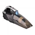 4 in 1 12V car vacuum cleaner with Digital air compressor & light