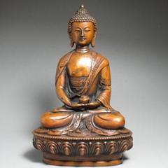 七寸純銅佛像阿彌陀佛
