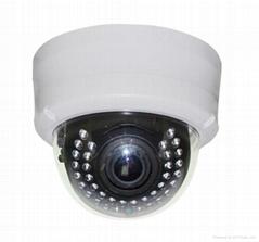 1200/900tvl 30M IR Dome Analog camera varifocal lens