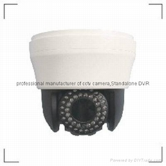 "130W 4"" high speed dome camera 40IR/10x/700TVL"