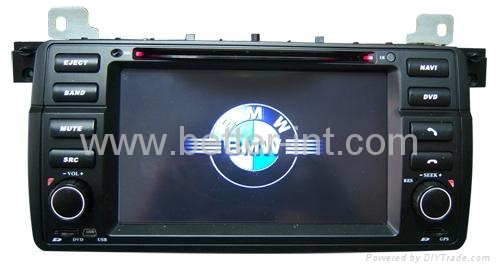 Touch screen car dvd for bmw e46 2