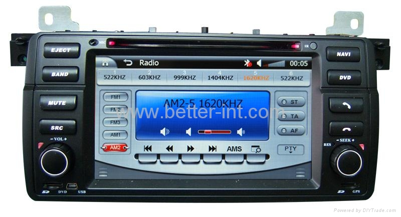 Touch screen car dvd for bmw e46 3